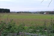 Viewe from the Icknield Way Path towards Newnham.