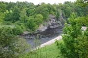 Howbury Scar on the River Tees