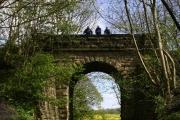 Disused Railway Bridge by Bellburn Wood