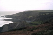 Speke's Mill Mouth from Swansford Hill