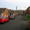 Back street in Tanfield Lea, Co.Durham
