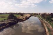 The Leeds & Liverpool Canal from Bamfurlong Bridge, looking North