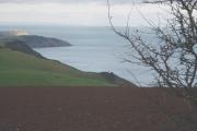 Coastline near Scabbacombe Head