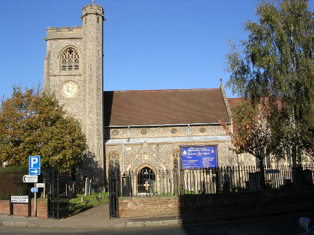 Welwyn.  Parish Church of St Mary the Virgin.
