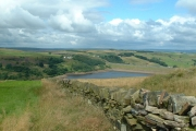 Looking back to Scammonden Water