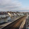 Starcross - sea, railway and village street