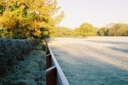 Frosty morning, Holly Cross