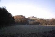 Frosty Farmland near Westacott Wood