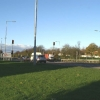 Junction of the A571 with the East Lancs Road (A580)