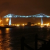 Transporter Bridge Dressed up for the Night
