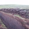 Peat Cutting near the Simli Field, Shetland
