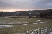 Farmland near Exebridge.