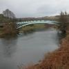 Bigsweir Bridge and the river Wye