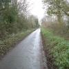 Marshcroft Lane on a damp December day