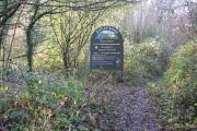 Botley Wood Titchfield Lane Entrance