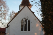 St, Leonard's Church from West