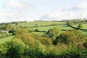 Doddiscombsleigh: north to Apridge