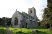 All Saints' church, Dunsby, Lincs.