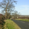Country road to the south of Staindrop, County Durham