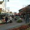 Caldicot town centre, market day