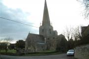 Church of St. Mary,  Bampton