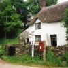 Merton: cottage by Merton Mill Cross