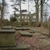 Bronte Parsonage from Churchyard