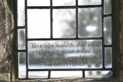 Window in St Andrew's Church, Bolam