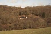 Farmland near Winsham Down House.