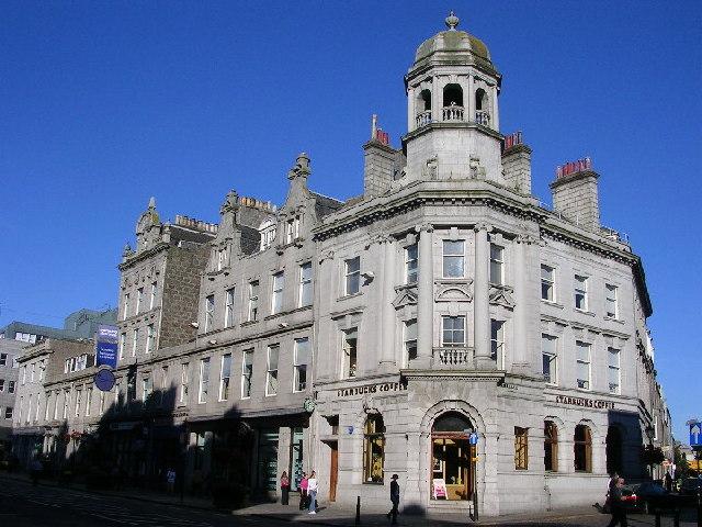 Granite Buildings on Union Street