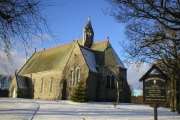 Craigiebuckler Church in Winter