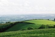 Silverton: hill above the village