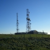 Radio Masts Above Bank Farm
