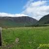 Looking up Glen  Catacol, Arran