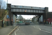 Collingwood Road Railway Bridge, Sutton