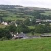 Yeo Mills looking SW across the valley