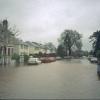 Leam Terrace in floods