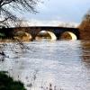 B3073 Bridge over Stour  at Wimborne