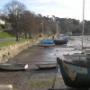 Boats Moored on the Truro River