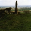 Ancient monument at Legs Cross near Bolam Co Durham