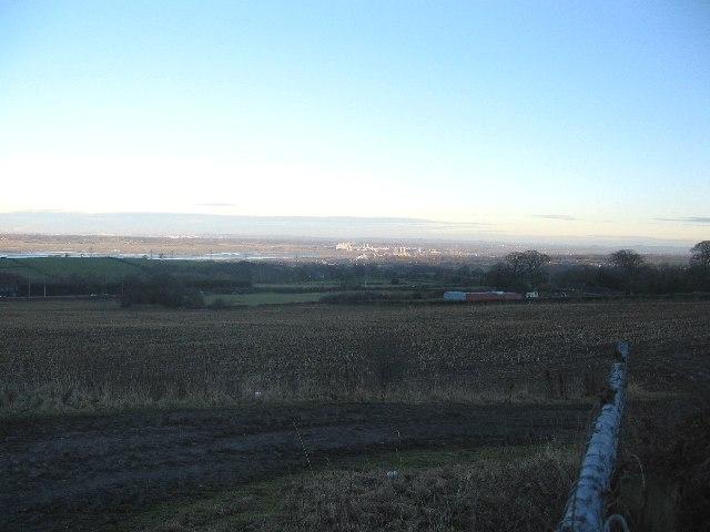 Cropland at Pentre Halkyn