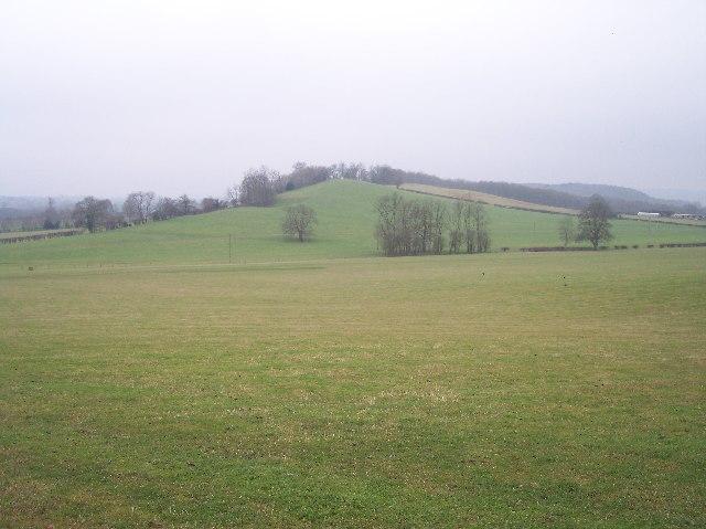 Un-named Knoll near Redcastle Farm