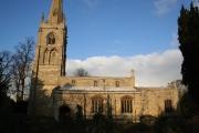 St. Swithin's church, Leadenham, Lincs.