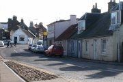 Leuchars village shops.
