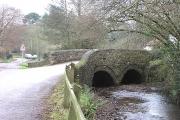 Broadhembury, bridge over the River Tale