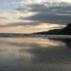 Beach at Carradale.