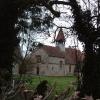 St. Bartholomew's, Wigginton through the hedge