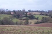 Acton Beauchamp Church and Church House Farm