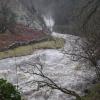 Ingleton Falls in Flood