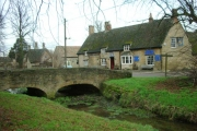 Barnwell Brook and the Montagu Arms